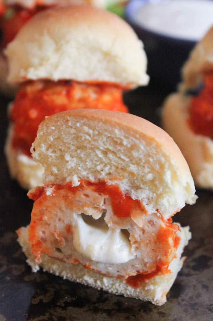 cheesy-buffalo-chicken-meatball-sliders-3