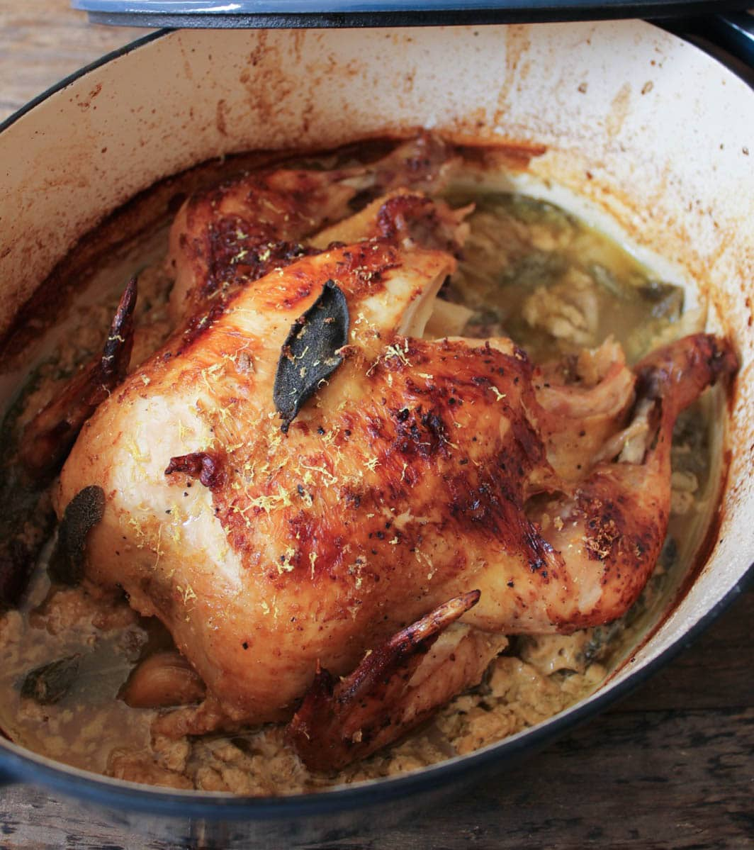 The Best Roast Chicken Ever aka Jamie Oliver's Chicken in ...